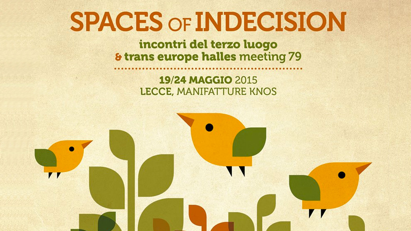 Spaces of Indecision alle Manifatture Knos di Lecce