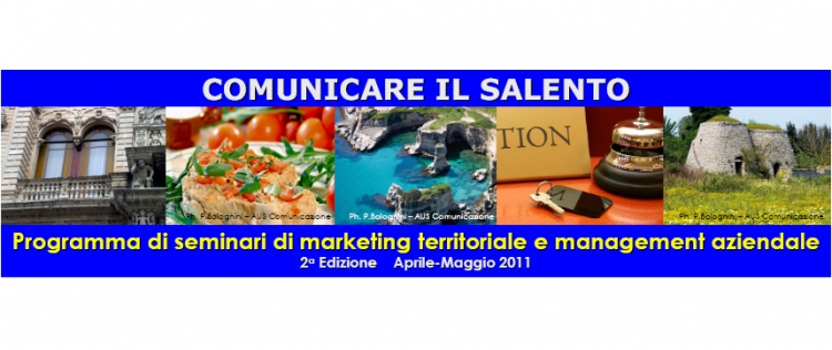 "SalentoWebTv testimone nel Seminario ""Web Marketing: come costruire un sito web"