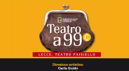 Teatro A 99 Centesimi Tutti Gli Appuntamenti Del Paisiello