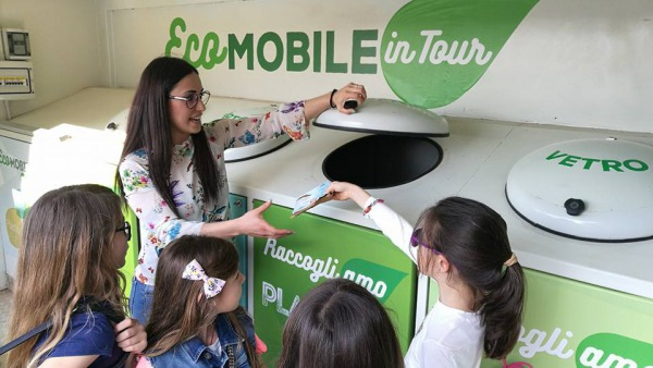 ARO7/LE: Ecomobile in tour per celebrare Earth Day