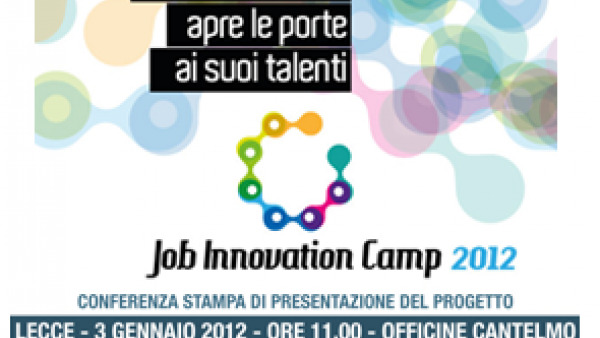 Job Innovation Camp 2012: il programma