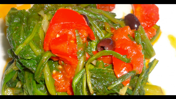 Verdure salentine saltate in padella - Video ricetta